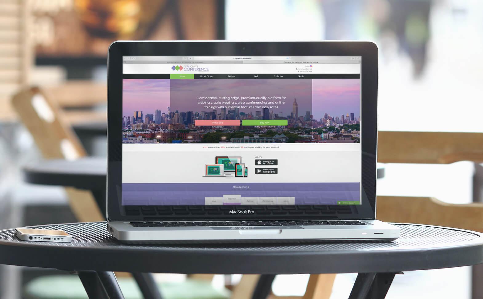webinar on your website