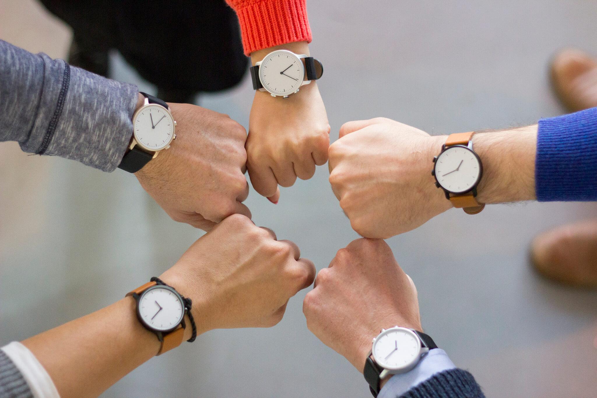 choosing webinar time