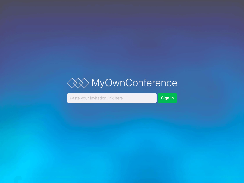 myownconference app